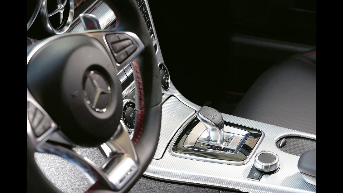 Mercedes-AMG SLC 43, Schalthebel