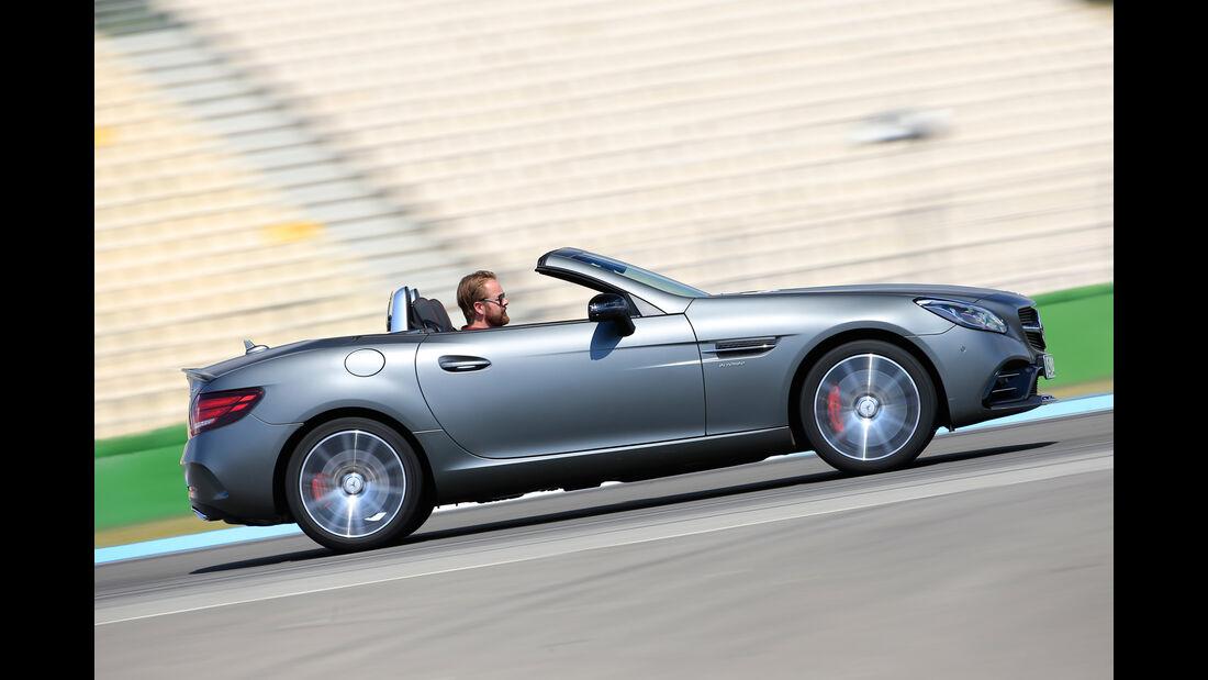 Mercedes-AMG SLC 43, Seitenansicht