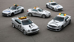 Mercedes-AMG Safety Cars, Generationen, Impression