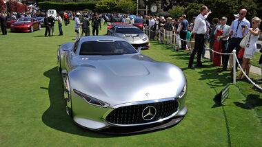 Mercedes AMG Vision Gran Turismo - GT6 - Pebble Beach 2014 - Pebble Beach Concours d'Élegance - 08/2014