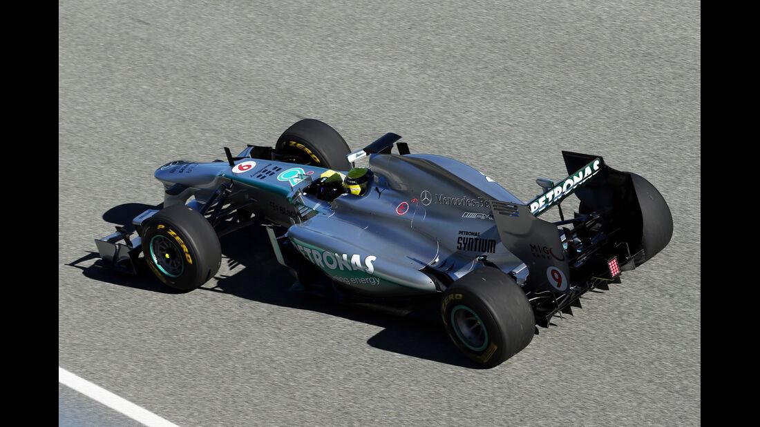 Mercedes AMG W04 2013 Jerez