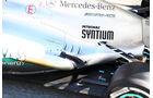 Mercedes AMG W04 Auspuff F1 2013