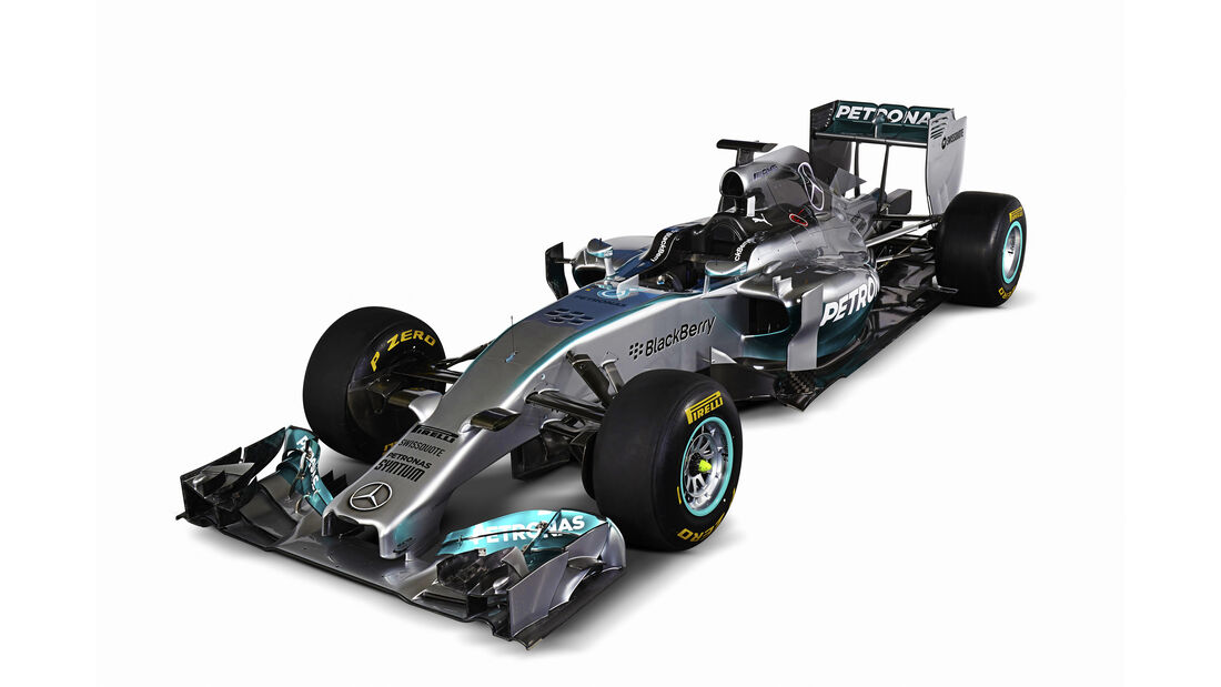 Mercedes AMG W05 - Beste F1-Autos