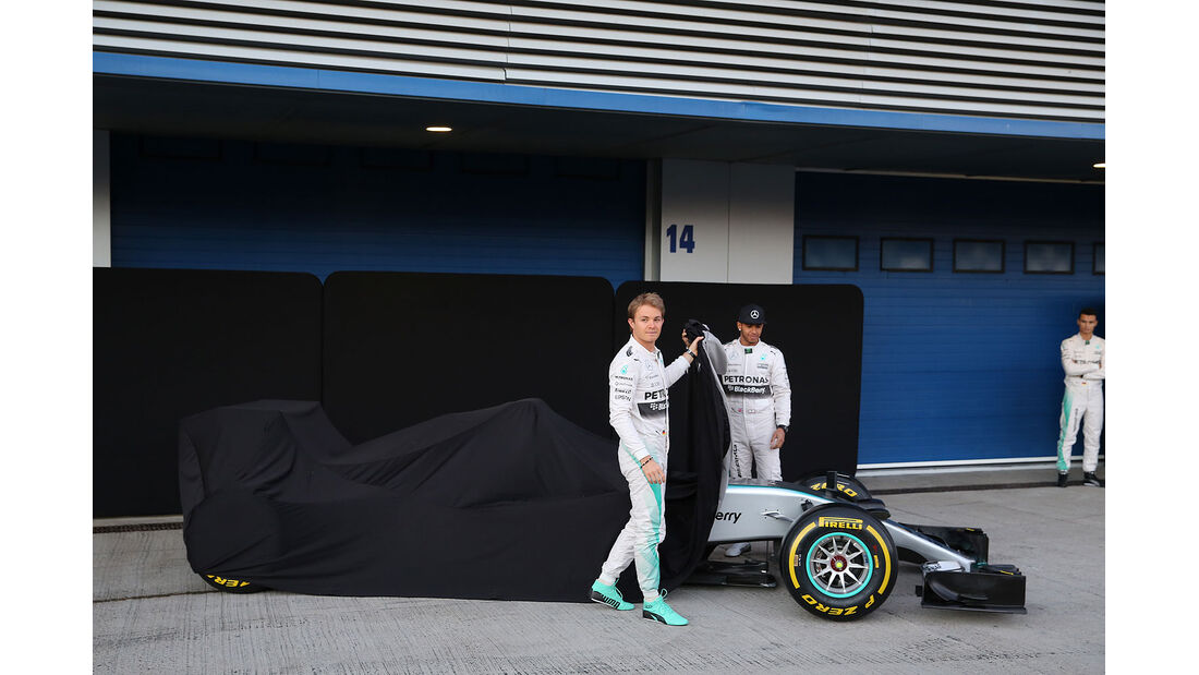 Mercedes AMG W06 2015