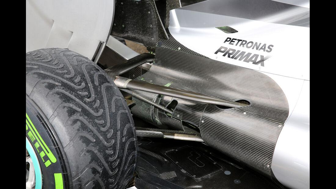 Mercedes AMG W06 - Formel 1 2015 - Technik-Check