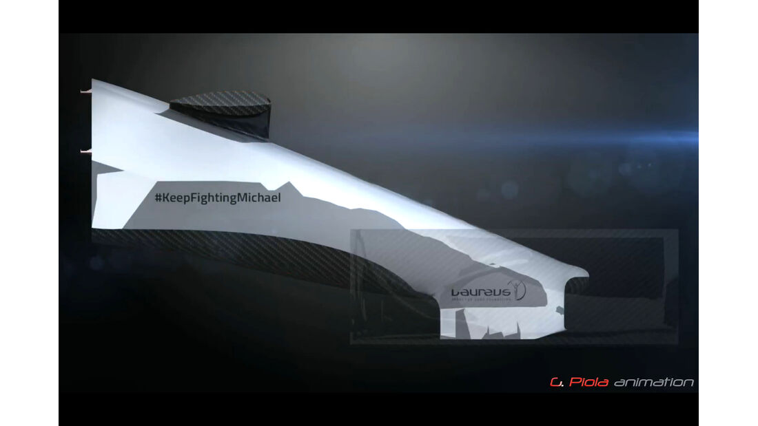 Mercedes AMG W06 - Piola-Animation - F1-Technik - 2015