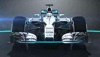 Mercedes AMG W06 - Piola-Animation - F1-Technik - 2015
