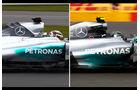 Mercedes AMG W06 - Shakedown Silverstone 2015