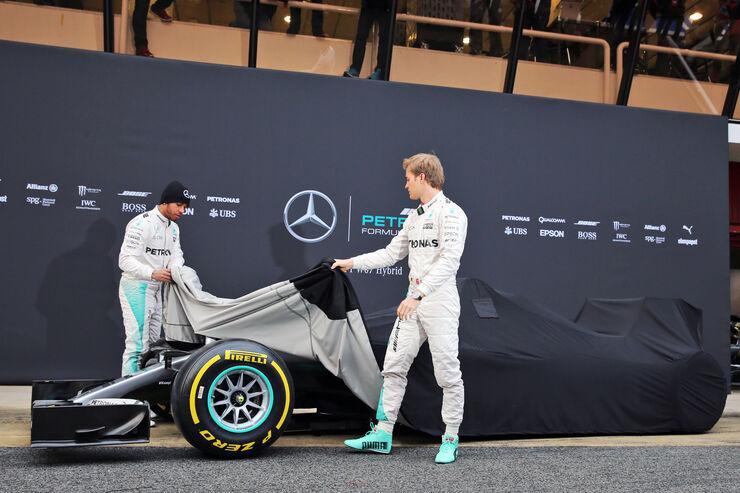 Mercedes AMG W07 - Enthüllung 2016