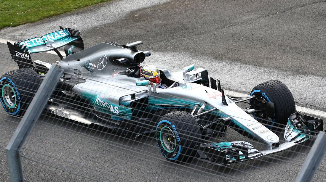 Mercedes AMG W08 - F1-Auto - 2017