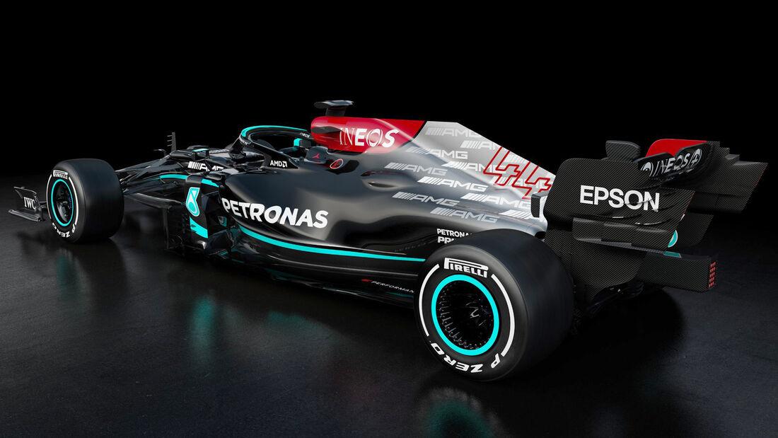 Mercedes AMG W12 - F1 - 2021