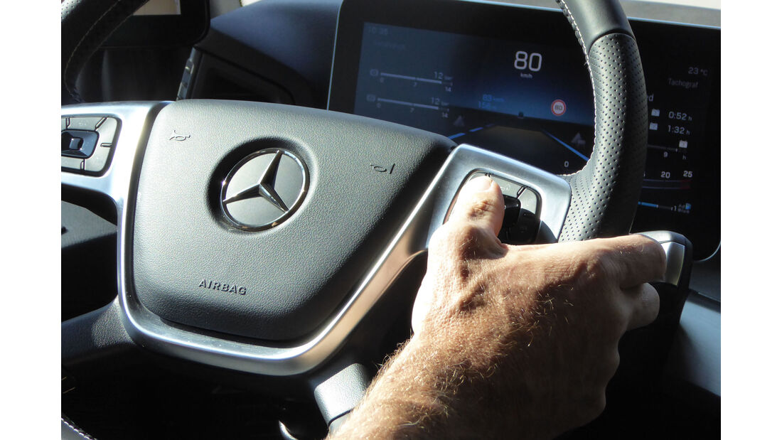 Mercedes Actros 2018 Fahrbericht