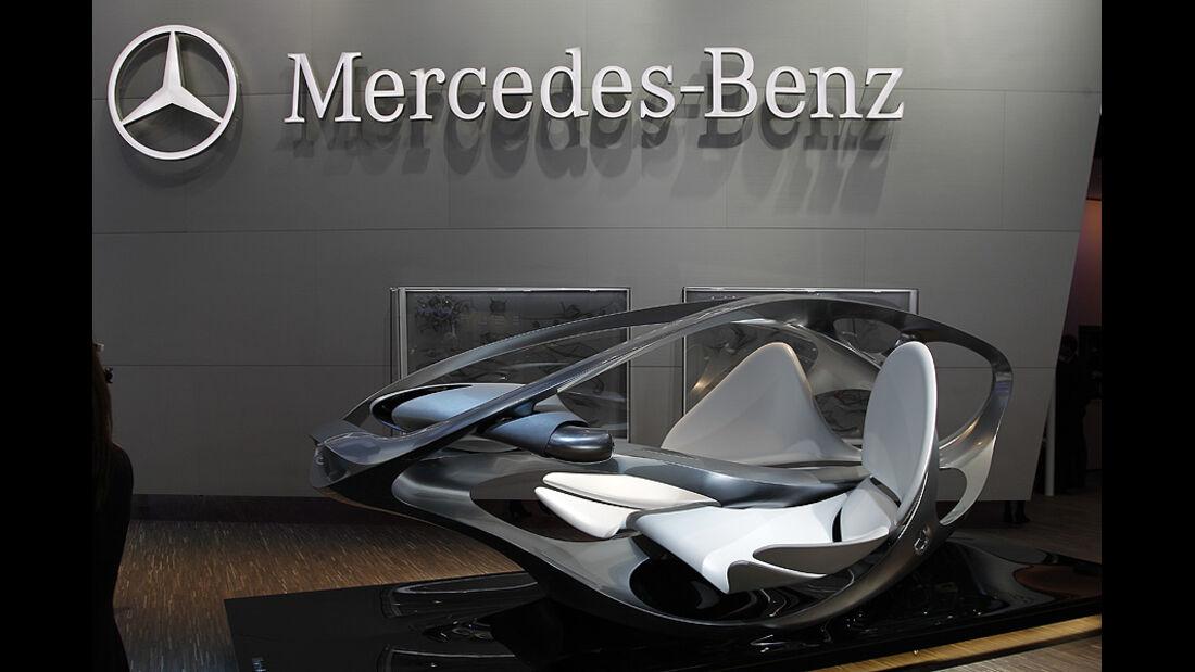 Mercedes Aestetics No. 2, Detroit Motor Show, Rundgang