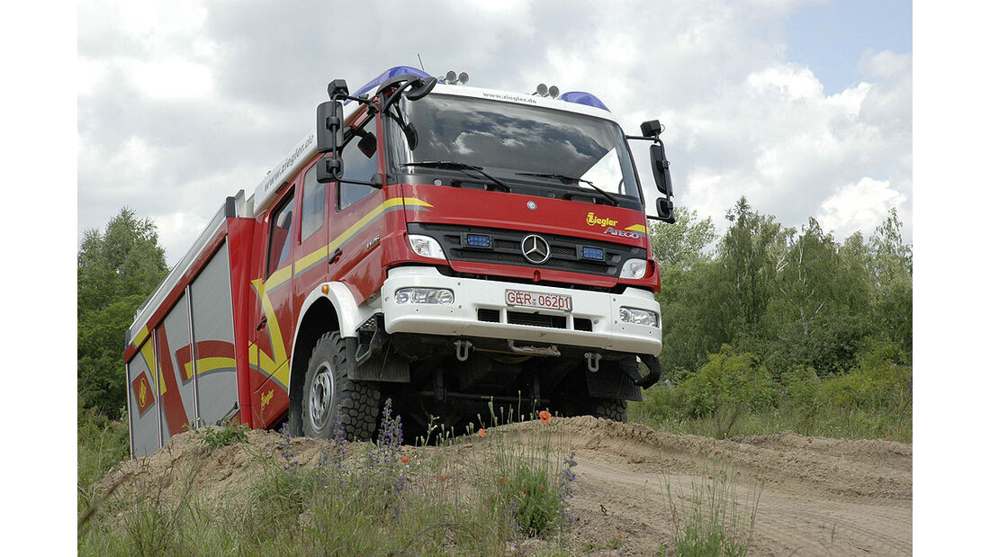 Mercedes Atego 1329 AF Gerätewagen Logistik