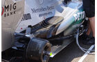 Mercedes - Auspuff - Formel 1 2013