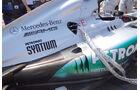 Mercedes Auspuff GP Ungarn 2012