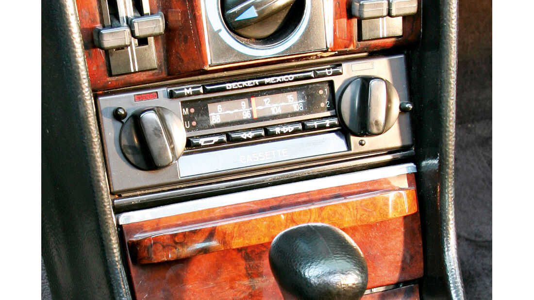 Mercedes-Ausstattungsvielfalt, Becker-Radio