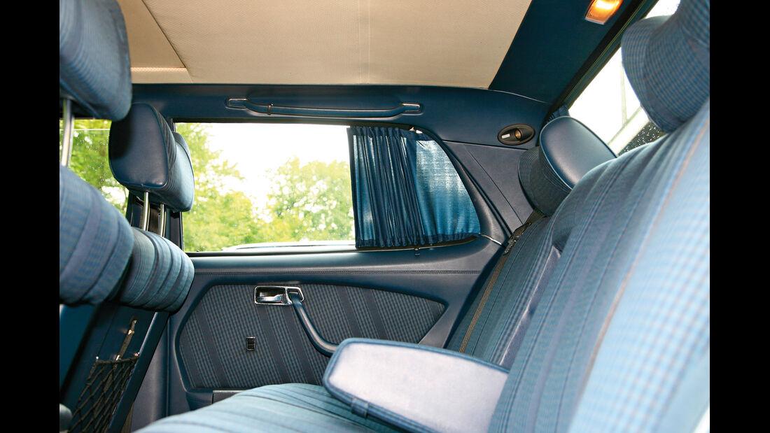 Mercedes-Ausstattungsvielfalt, Gardinen
