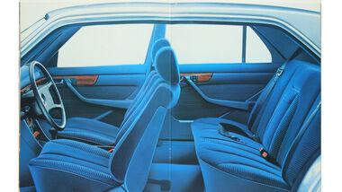 Mercedes-Ausstattungsvielfalt, Innenraum