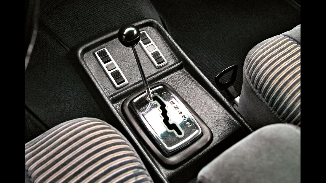 Mercedes-Ausstattungsvielfalt, Schaltung, Schalthebel