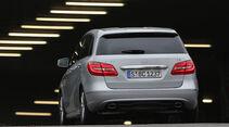 Mercedes B 160 CDI, Heckansicht