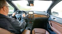 Mercedes B 180 CDI, Cockpit
