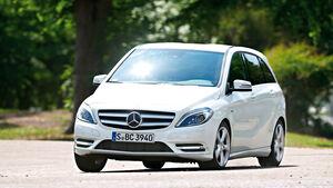 Mercedes B 180 CDI, Frontansicht