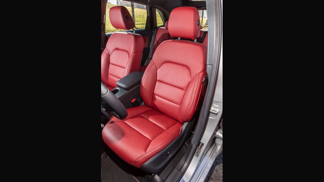 Mercedes B 200 CDI, Fahrersitz
