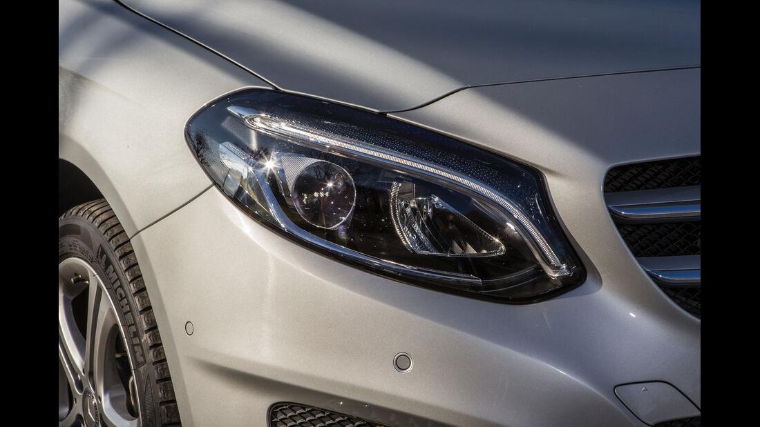 Mercedes B 200 CDI, Frontscheinwerfer