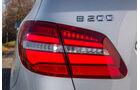 Mercedes B 200 CDI, Heckleuchte