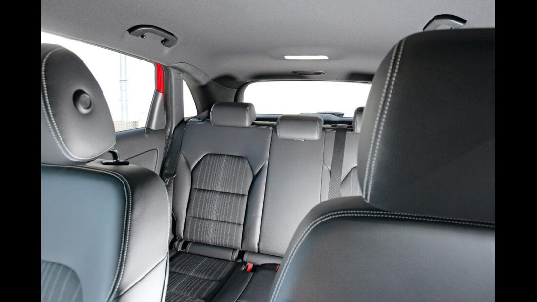 Mercedes B 200 CDI, Innenraum