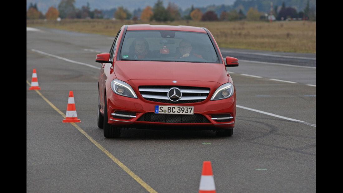 Mercedes B 200 CDI, Slalom