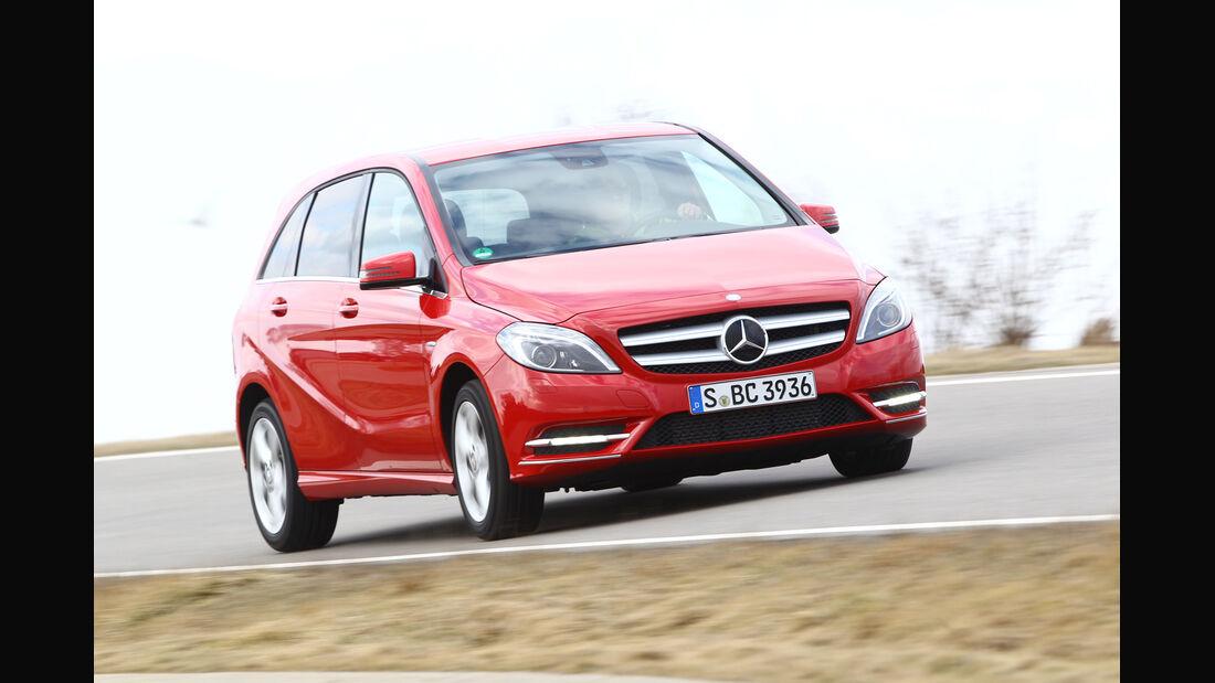 Mercedes B 200, Frontansicht