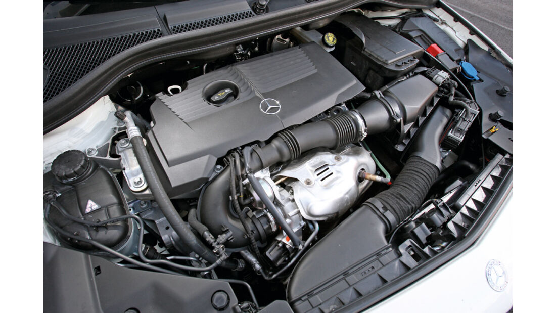 Mercedes B 200, Motor