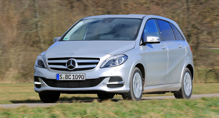 Mercedes B 200 NGD, Frontansicht