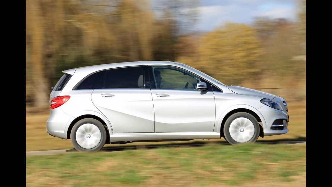 Mercedes B 200 NGD, Seitenansicht