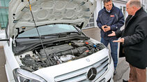 Mercedes B 200 Natural Gas Drive, Motor