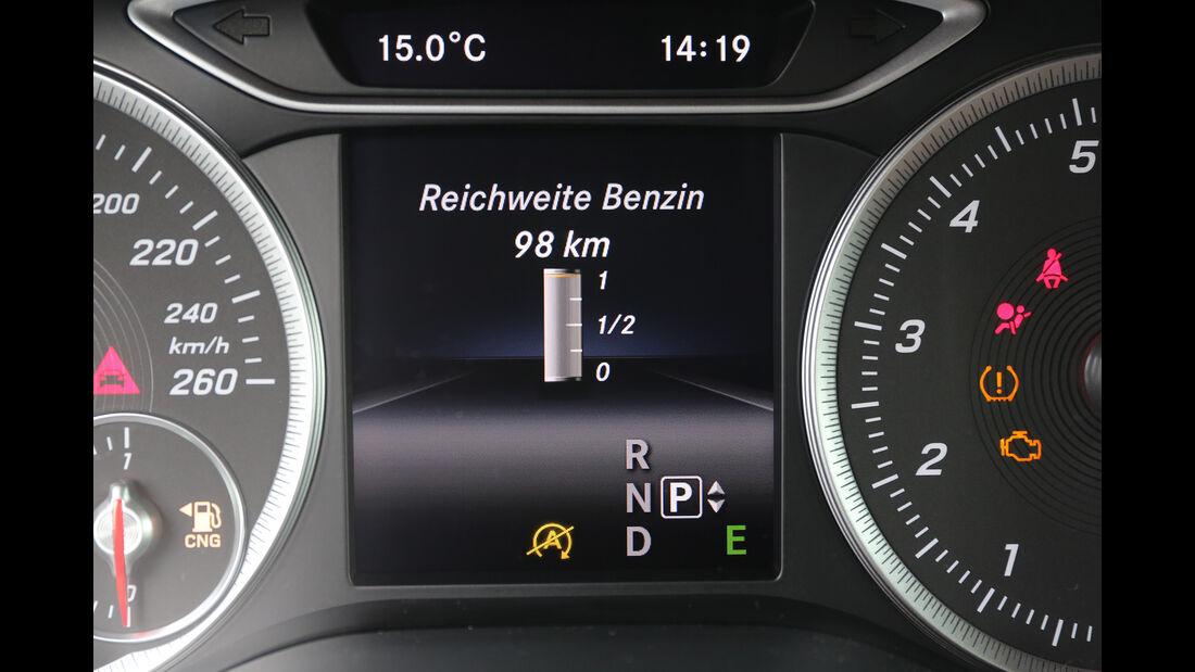 Mercedes B 200 c, Interieur