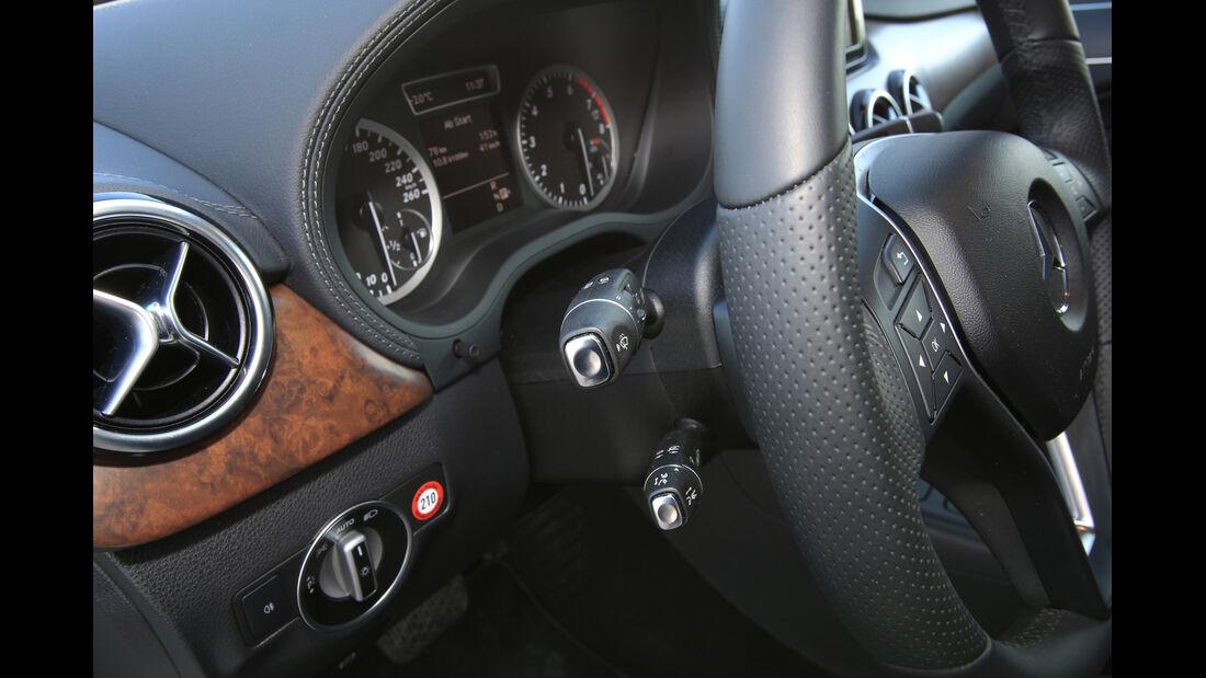 Mercedes B 250, Getriebewählhebel