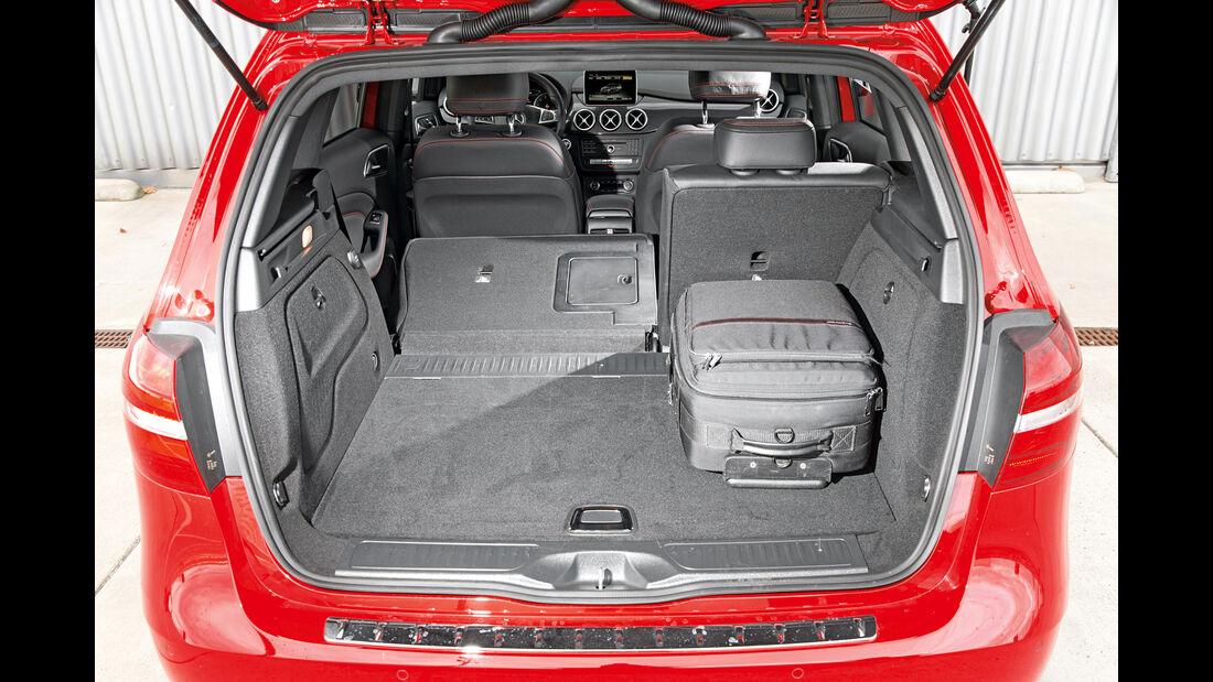 Mercedes B 250, Kofferraum
