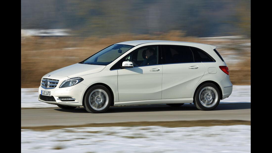 Mercedes B 250, Seitenansicht