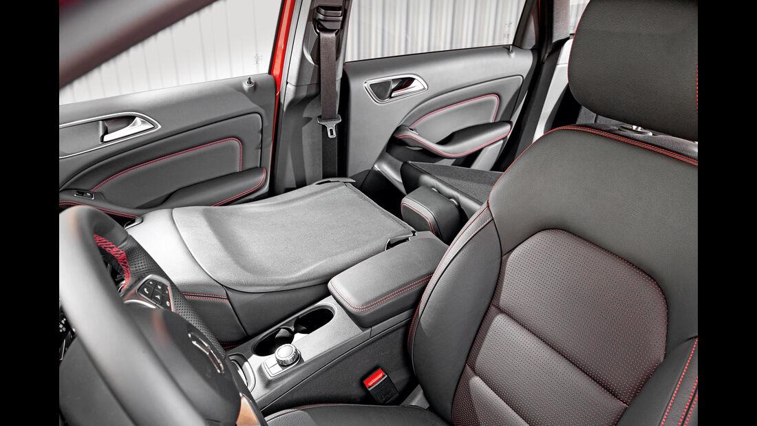 Mercedes B 250, Sitze, Umklappen