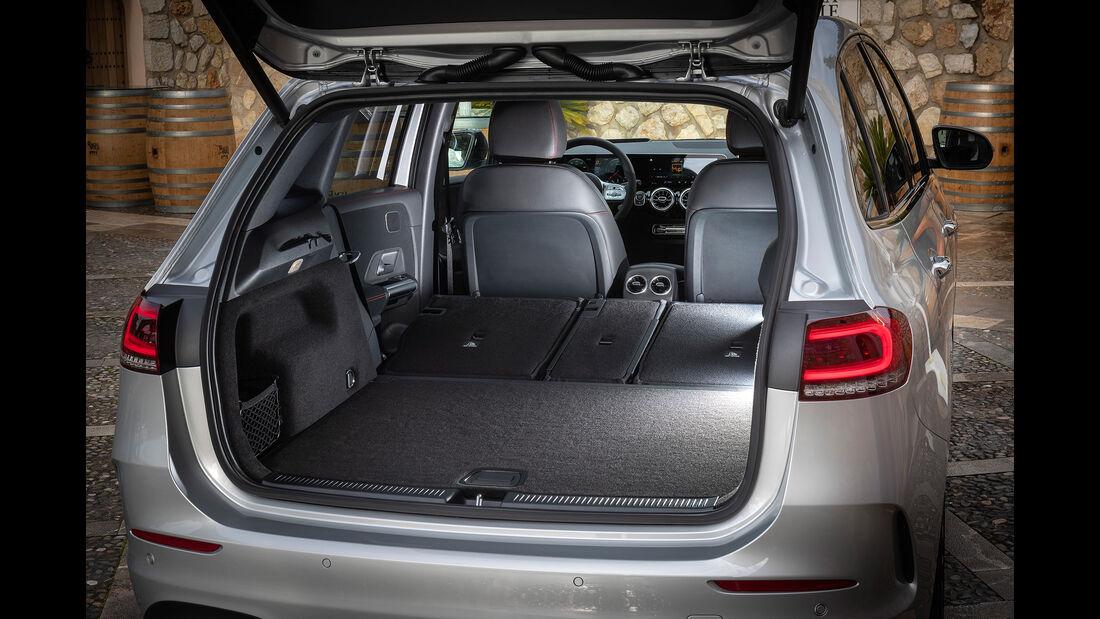 Mercedes B-Klasse 200d, Kofferraum