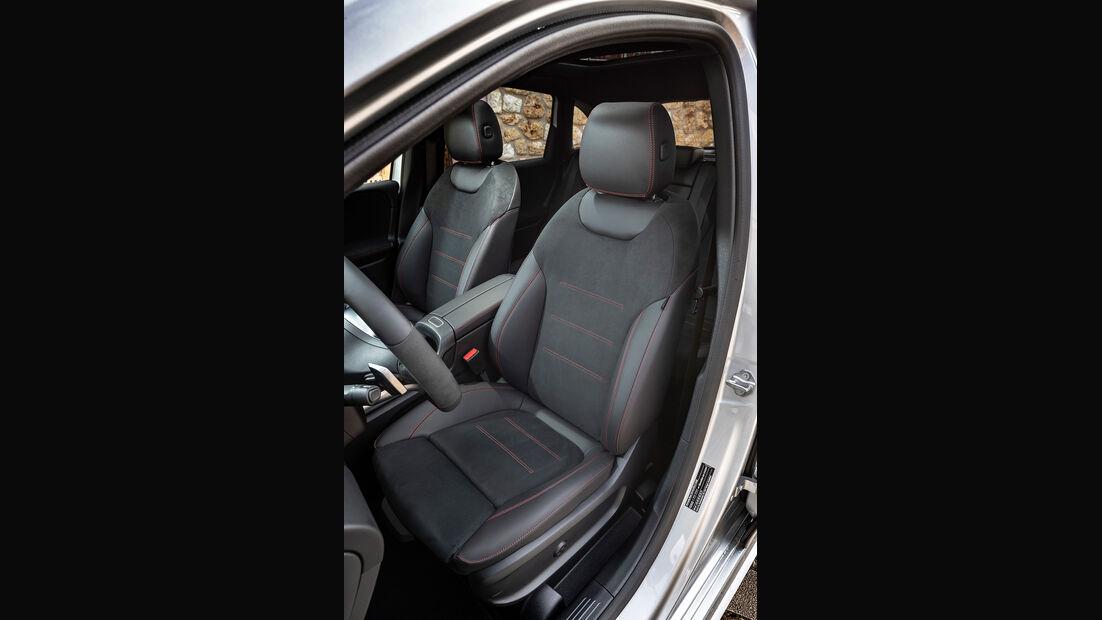 Mercedes B-Klasse 200d, Sitze