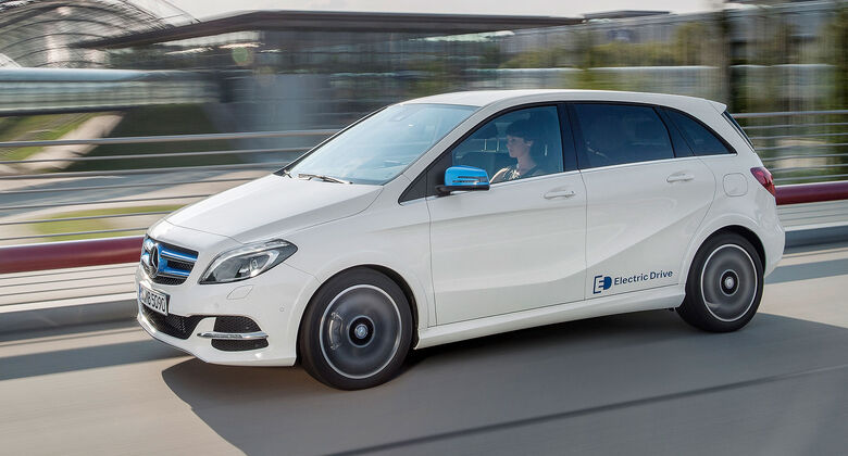Mercedes B-Klasse B 250e Electric Drive