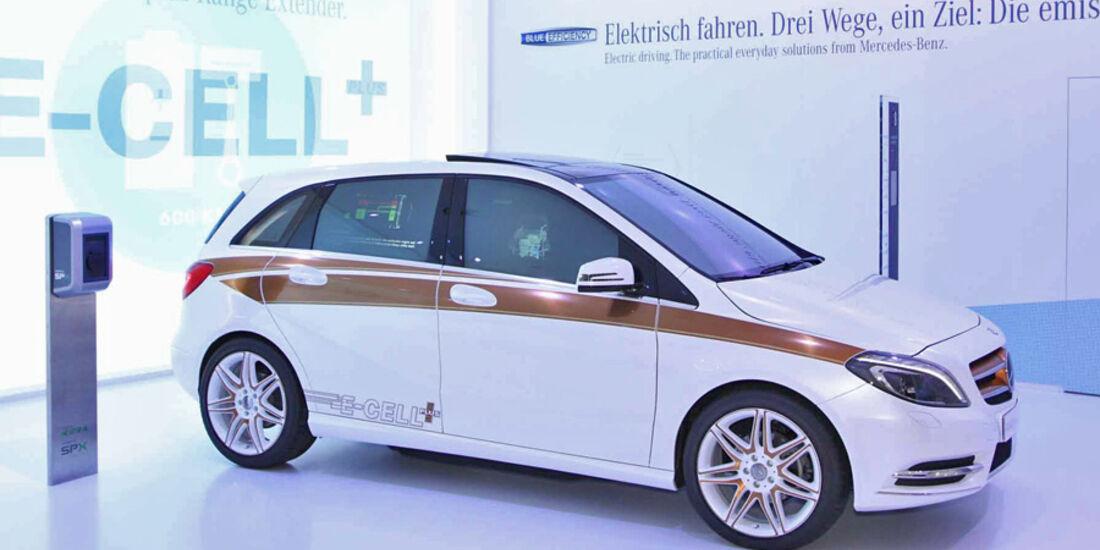 Mercedes, B-Klasse, E-Cell, IAA 2011