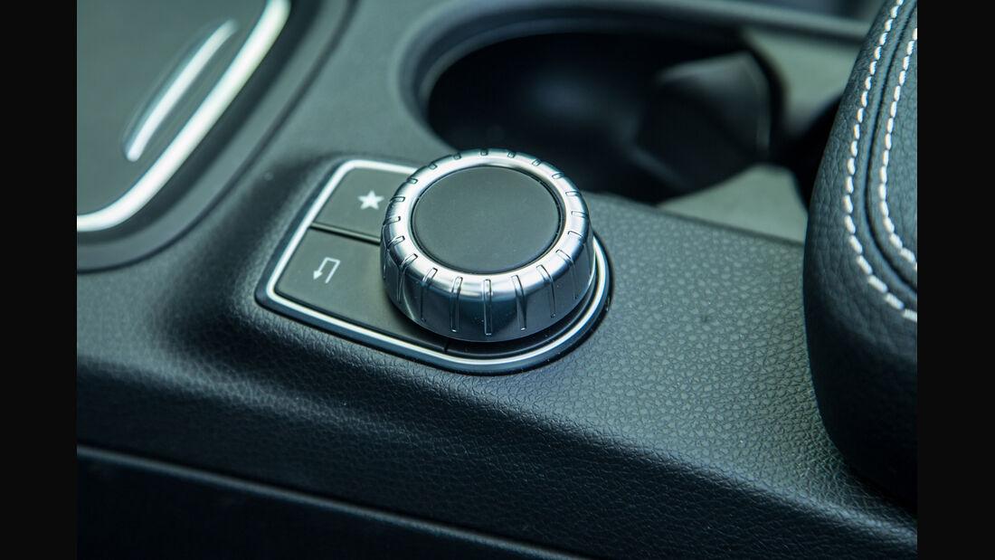 Mercedes B-Klasse Electric Drive, Bedienelement