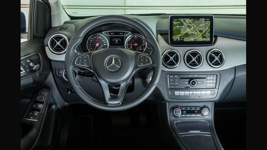Mercedes B-Klasse Electric Drive, Cockpit