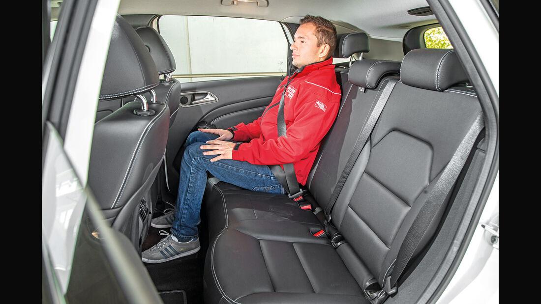 Mercedes B-Klasse Electric Drive, Fondsitz