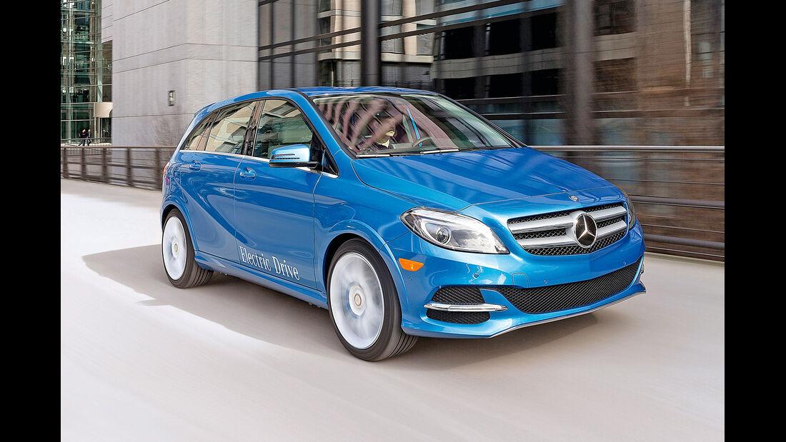 Mercedes B-Klasse Electric Drive, Frontansicht